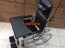 Kursi Roda 4 in 1 Gea FS609 Bisa BAB Bisa Rebahan dan ada Meja (BARU)
