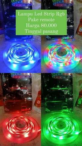 Lampu Led Strip Rgb (1paket Lengkap)