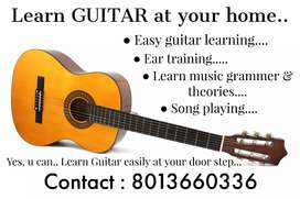 Learn Guitar easily at your home...make your dream come true.