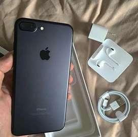 iPhone 7 Plus Black 128gb With Bill Box & All Accessories