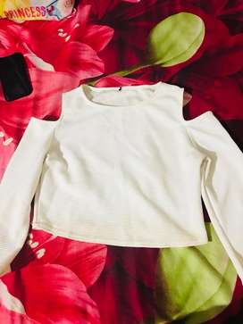 White top new condition