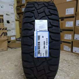 Ban Toyo Tires murah lebar 265-60 R18 Open Country RT Fortuner Pajero