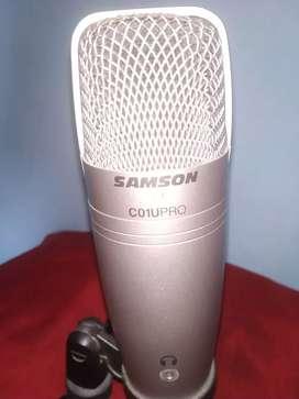 Samson usb mic for recording /mic