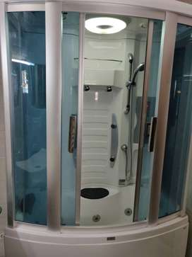 Shower Cubicle with Jacuzzi and Back Massage, 2014 but as good as new