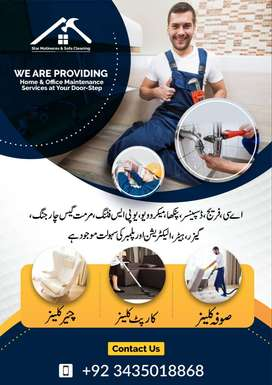 Plumber electrician /expert plumber/sofa cleaning /carpet cleaning