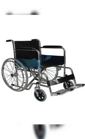Brand new Pneumatic Foldable Wheelchair with safety belt for sale