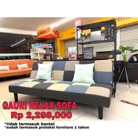 Sofa bed relax sofa kekinian minimalis