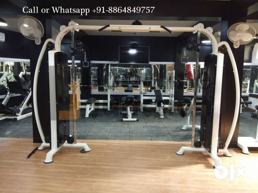 Imported look with heavy duty complete new Gym Equipment machine Setup