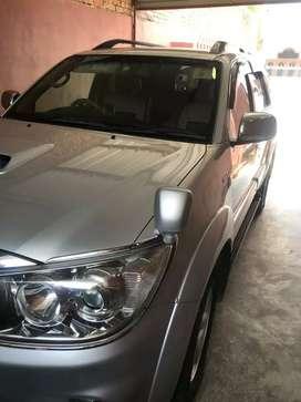 2010 Toyota fortuner 86000 km