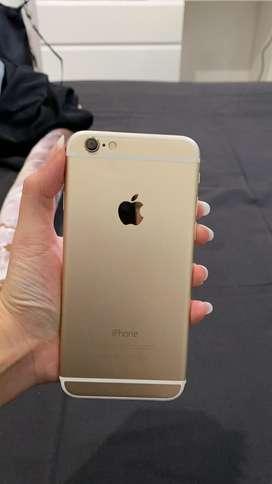 Iphone 6 64gb Gold, batangan