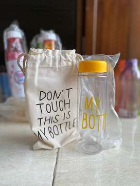 Perlengkapan minum botol tumblr termos
