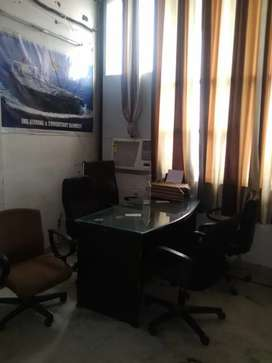 Furnished office space with workstations