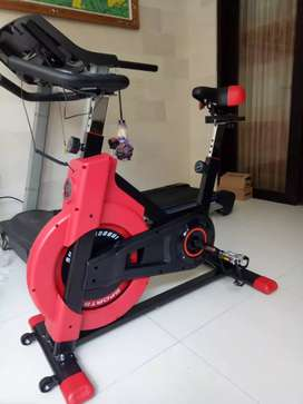 Sepeda spinning gym fitness GRATIS ANTAR