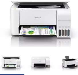 Epson echo tank L3116 multifunction printer with 1 year brand waranty