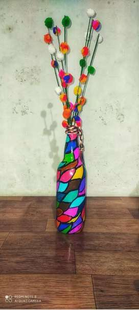 Botle art work