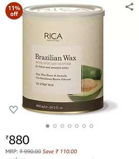 Rica brazilian wax- no strips