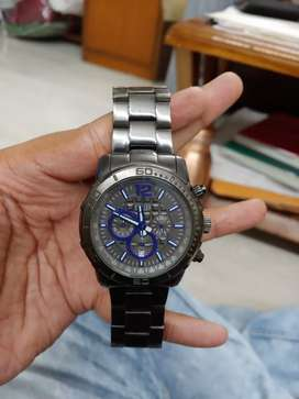 Original Guess Gun metal watch