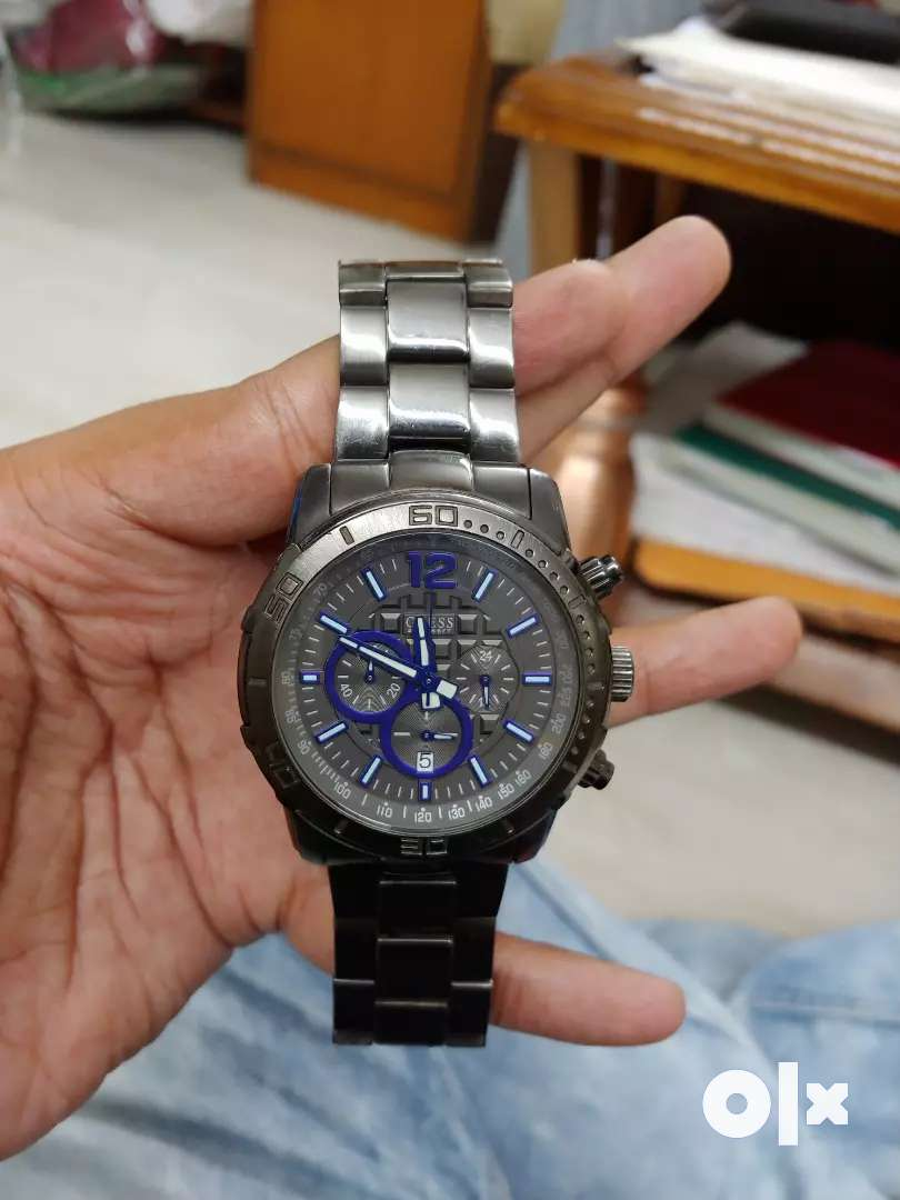Original Guess Gun metal watch 0