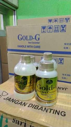 Gold g jelly jelli gamat asli 250ml dan 320ml banyak manfaat herbal