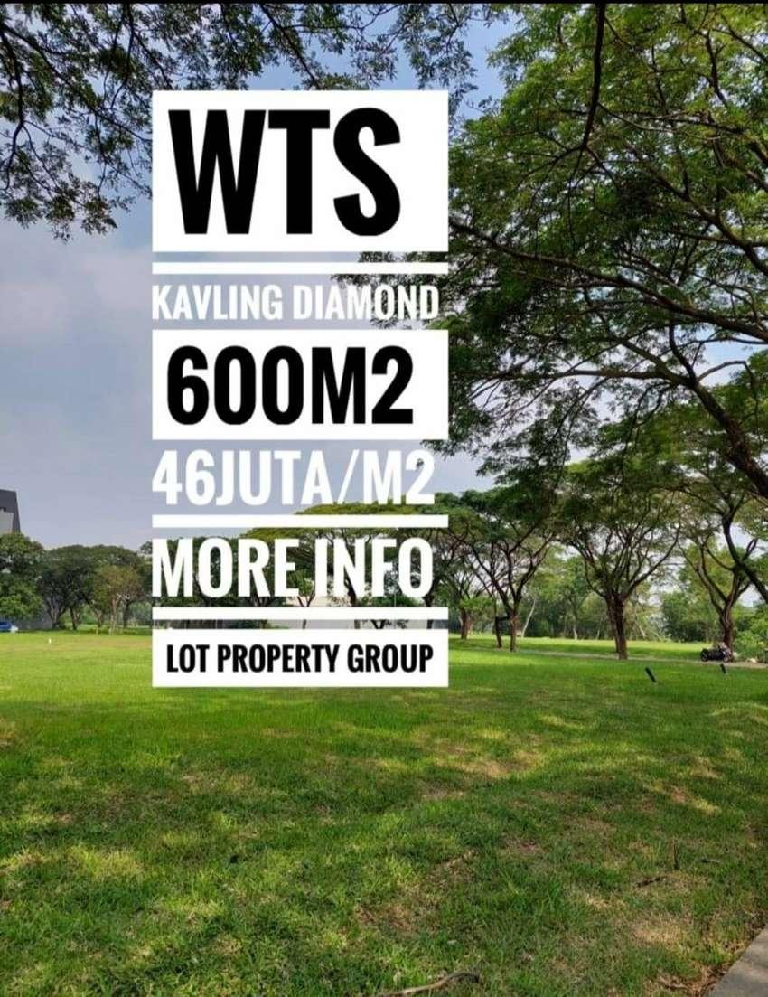 DIJUAL KAVLING DIAMOND GOLF PIK SANGAT BAGUS