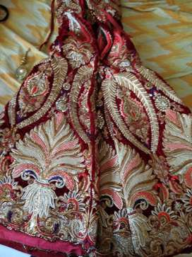 want to sell heavy designer dulhan dress used 1 time only.