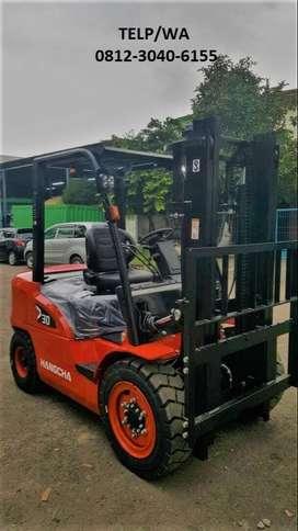 Baru Forklift Hangcha Mesin Mitsubushi Murah di Semarang Jawa Tengah