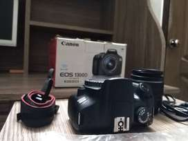 Canon dslr with 18-55 LENS all accessories are available complete box