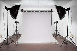 Photography Studio Rental - Rs.5,500/- full day