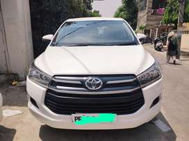 Toyota Innova Crysta white 2019 diese automatic amazing Condition