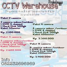 Camera CCTV 2MP indoor /outdoor