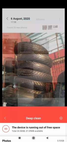 All types of 2 Wheeler tyre available