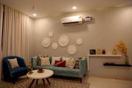 Ready to Move 3bhk in 43.90 lacs with Modular Kitchen And Cupboards