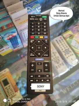 Remot Led dan Lcd Khusus Sony bisa semua tipe