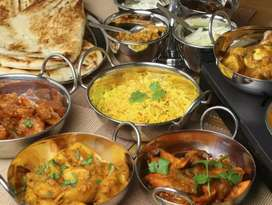 We can make Pakistani food with excellent taste and frozen items