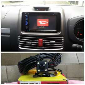 Head unit + kamera mundur untuk Daihatsu Terios