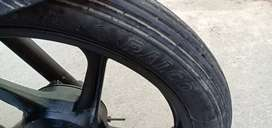Time pass vale msg na karan alloy wheels engine okay 9779703one05