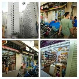 Disewakan kios tempat usaha lokasi plg strategis di apartemen Gdg Nias