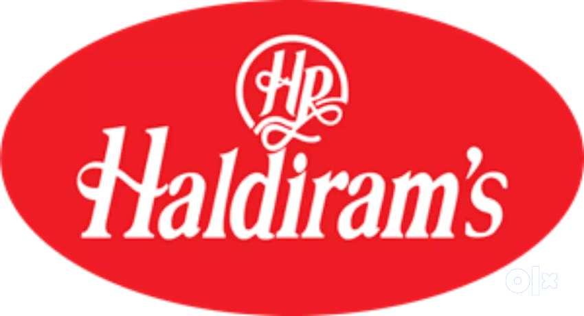 Recqurment in Haldiram india pvt ltd in Pan india location. 0