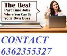 Govt online/offline part time typing&form filling jobs are available