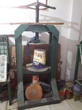 Alat press manual/ dongkrak hidrolik