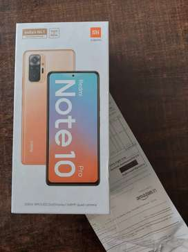 Redmi Note 10 Pro Bronze colour 8+128