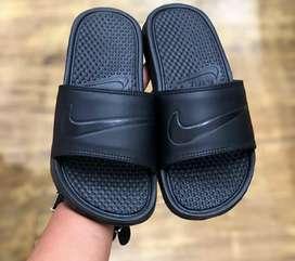 Jual sandal nike black