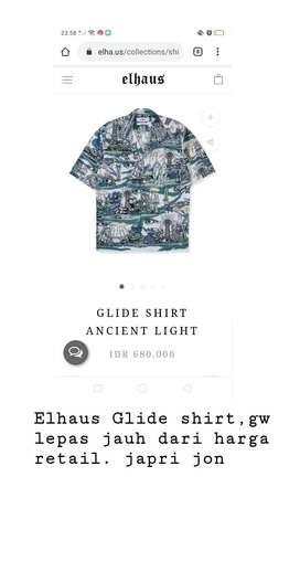 elhaus glide shirt ancient light