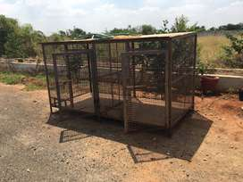 Dog cage and bird cages