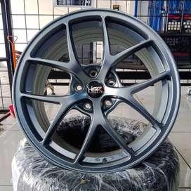 Velg Mobil Civic,Camry,Accord, Ring 18 Lebar 8 Pcd 5x114,3 MattGrey