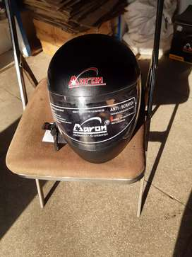 Brand new Aron three year body warranty helmt