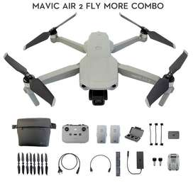 DJI Mavic Air 2 Fly More Combo 48MP 8K Hyperlapse Drone Garansi Resmi