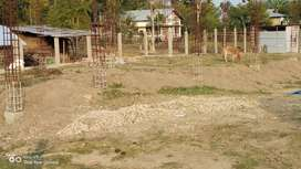Land for sale with under construction building