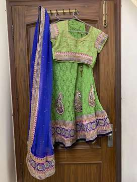 Green Lehenga Set from Chhabra 555