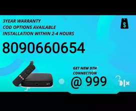 GET NEW HD CONNECTION TATA SKY